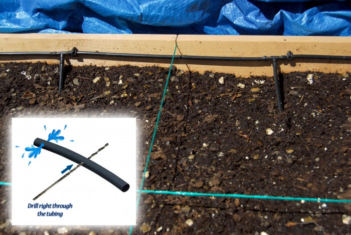 Square Foot Gardening Irrigation System v2.0